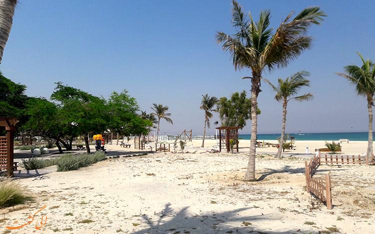 سواحل شنی کیش و پارکهای ساحلی-بهترین زمان سفر به کیش
