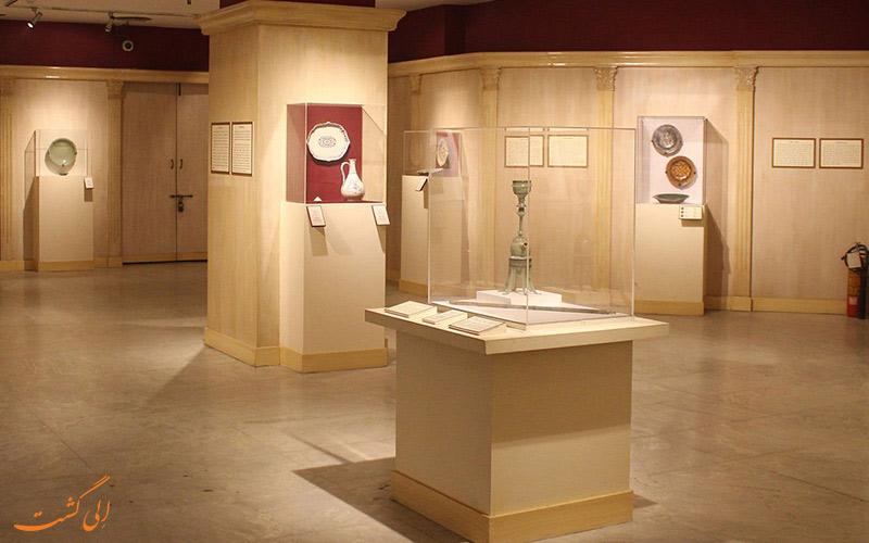 یکی از گالری های موزه ی ملی دهلی نو