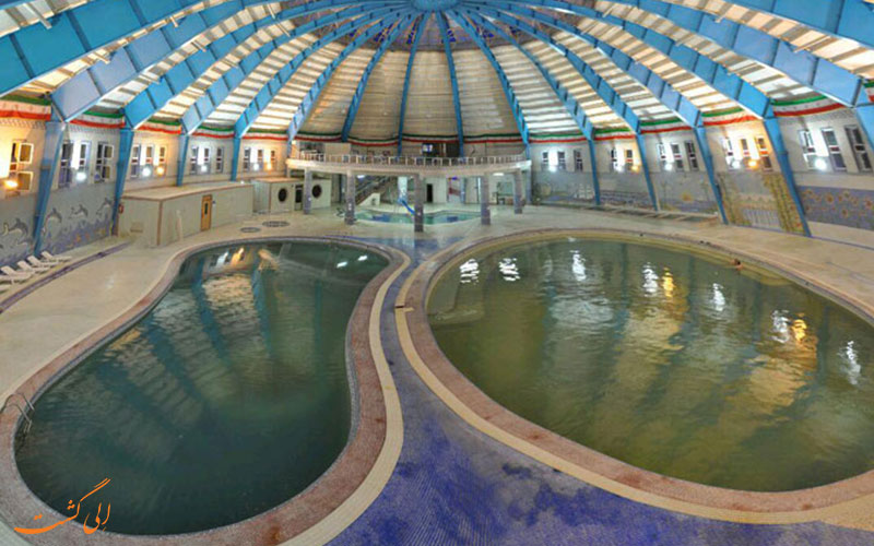 مجتمع آبدرمانی سبلان، بزرگ ترین مجتمع آب گرم ایران و خاورمیانه