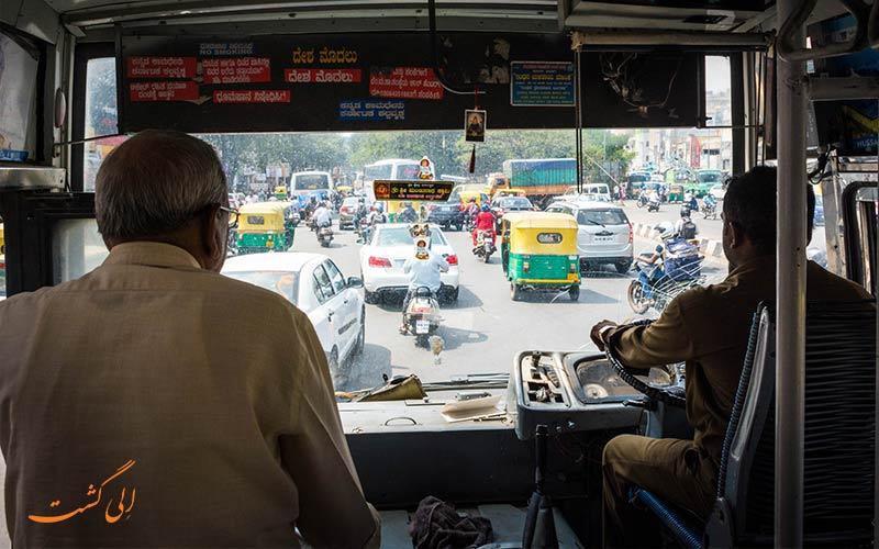 حمل و نقل عمومی هند-وسایل سفر به هند