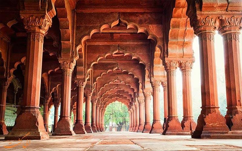 قلعه سرخ، جذاب ترین بنای تاریخی هند در هلی