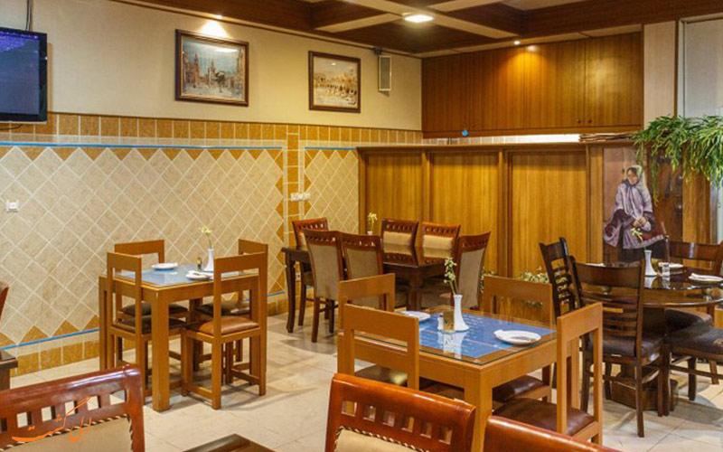 سالن غذاخوری هتل سعدی