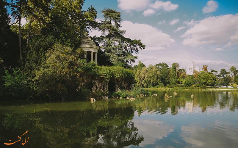 نمایی از پارک های پاریس در سپتامبر