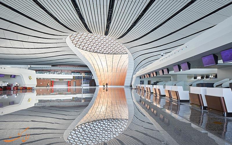 یکی از بخش های فرودگاه داکسینگ پکن