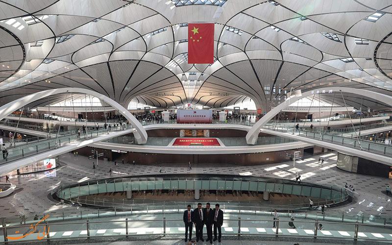 روز افتتاحیه ی فرودگاه دکسینگ پکن