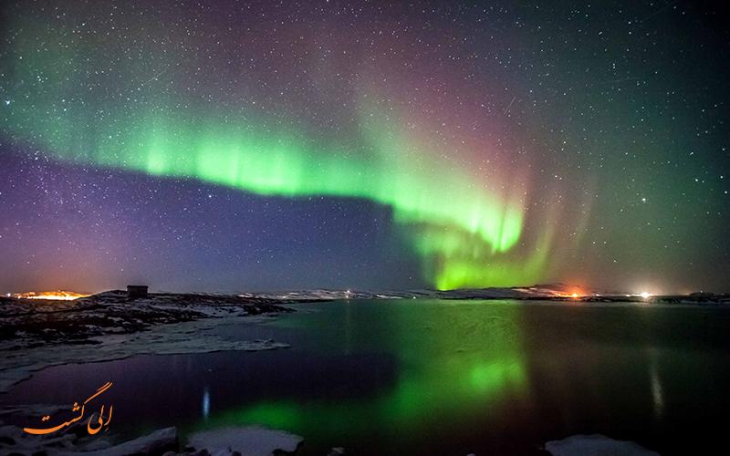 مورمانسک بهترین نقاط برای دیدن شفق قطبی در روسیه
