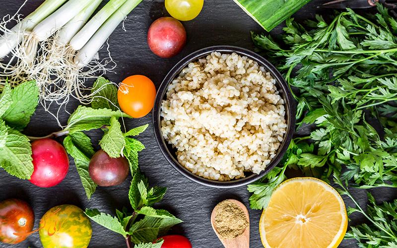عکس غذاهای گیاهخواری ترکیه