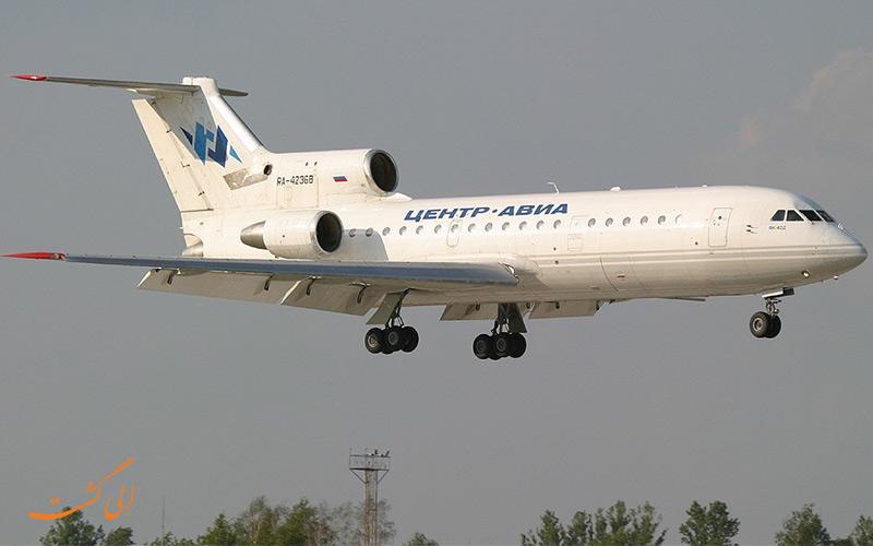 هواپیمای یالکوو ۴۲ مدل یاک 42