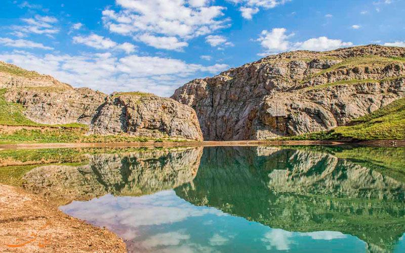 نمایی از طبیعت فیروزکوه