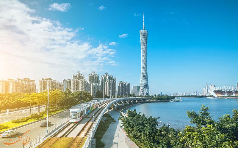 نمایی از شهر گوانجو چین