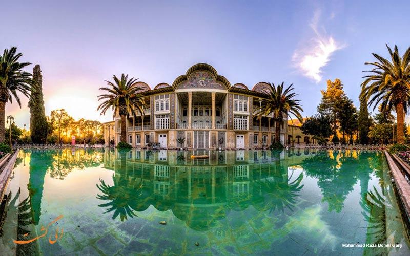 باغ ارم شیراز از زیباترین جاهای دیدنی ایران-زیباترین شهر ایران