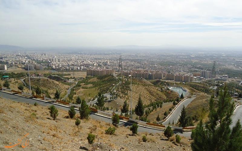 پارک جنگلی کوهسار، بهترین جا برای پیک نیک اطراف تهران در شب