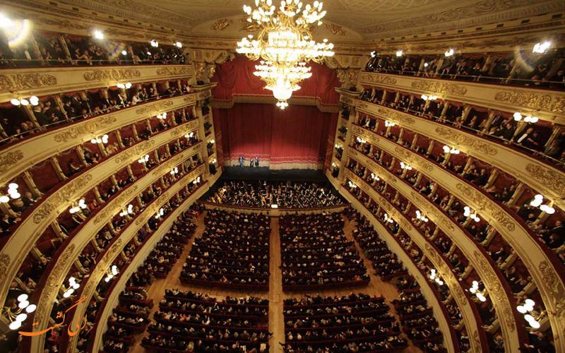 جاهای دیدنی میلان مانند سالن اپرا
