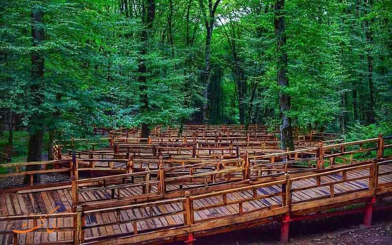 ناهارخوران گرگان بهترین پارک جنگلی شمال