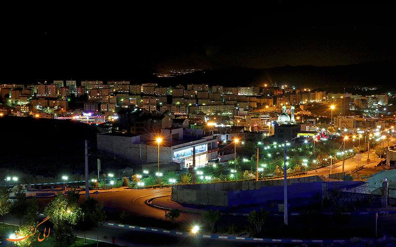 نمایی از شب های شهر پردیس