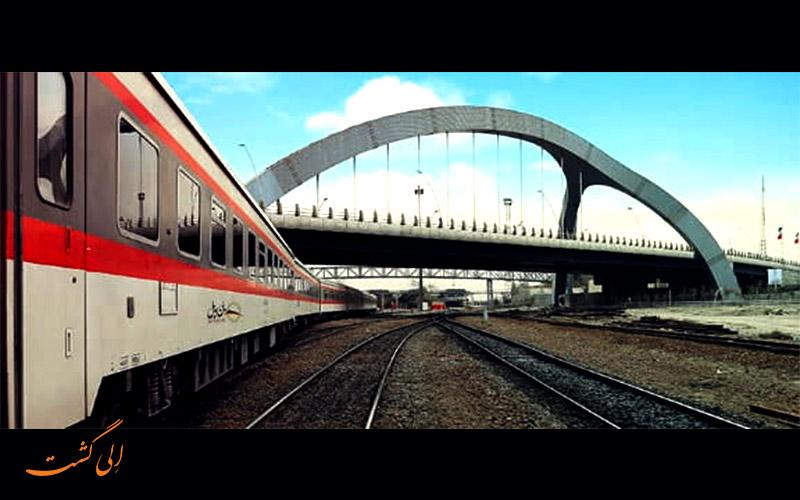 عکس قطار پرستو مشهد اهواز