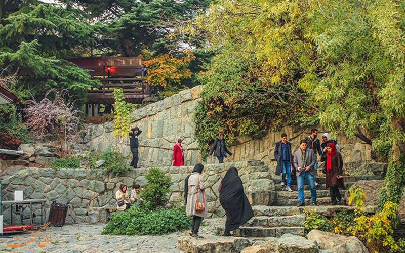 پارک جمشیدیه از بهترین پارک های تهران