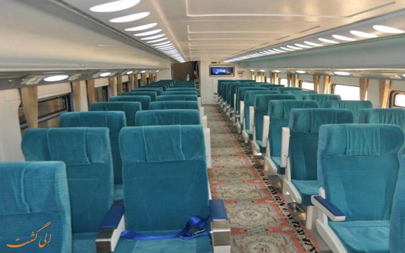 صندلی های قطار سالنی صبا