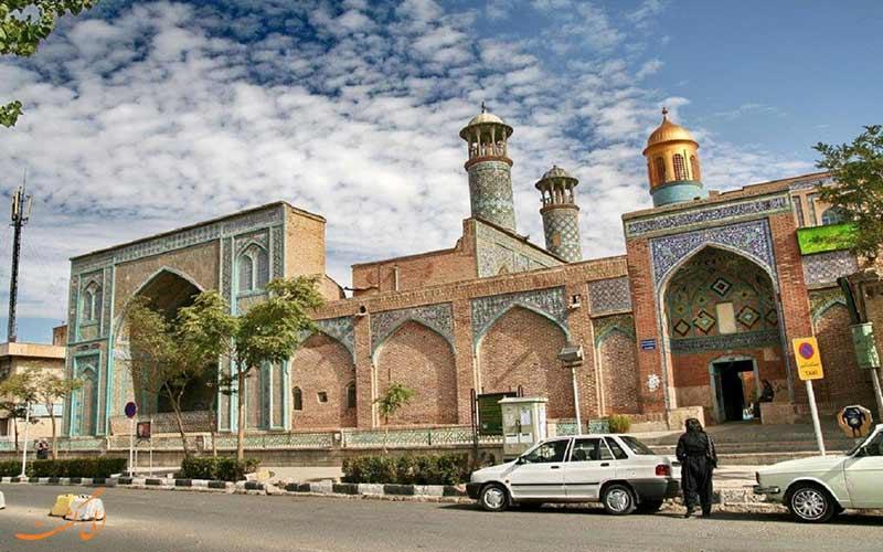 مسجد جامع سنندج، دیدنی به جا مانده از دوران قاجار