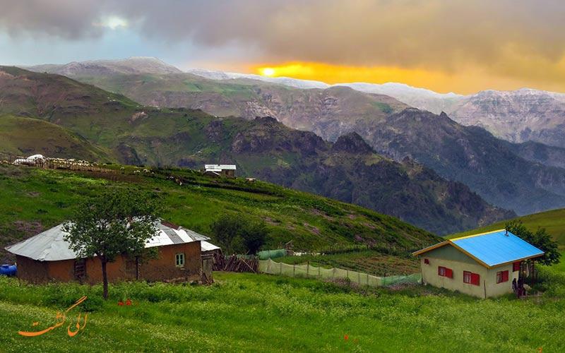 سوبانان بهترین روستای گیلان برای زندگی