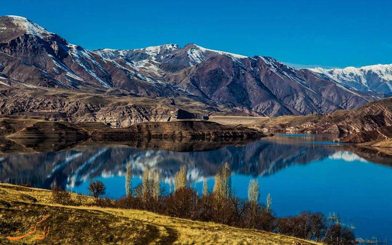 دریاچه ی طالقان