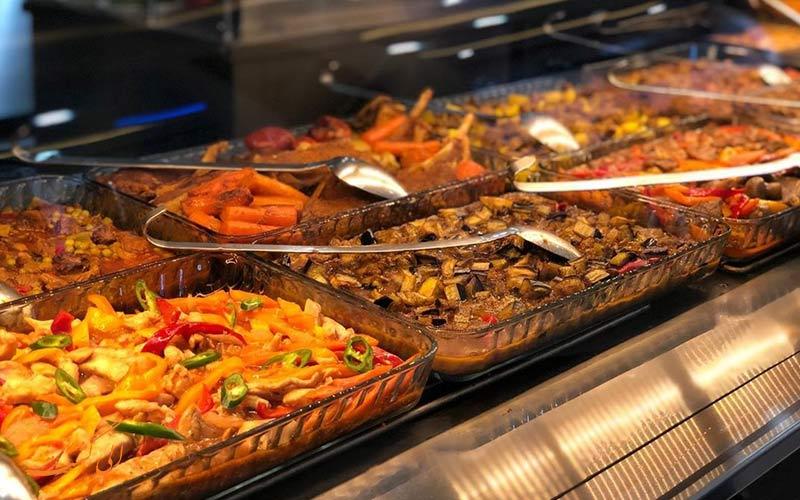 رستوران ترکیه ای کاباک از رستوران های حلال در باتومی
