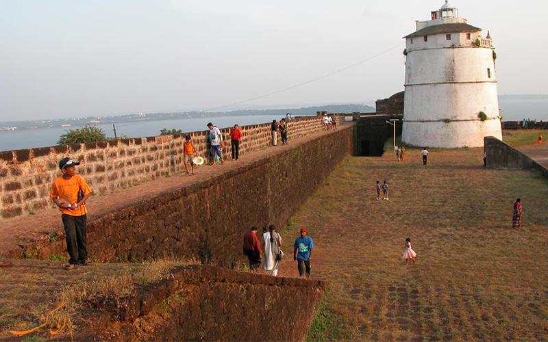 قلعه آگوادا از جاهای دیدنی گوا