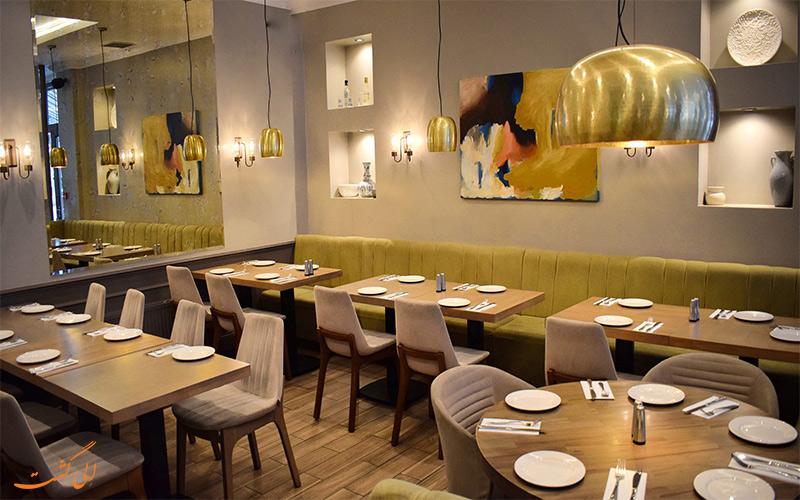 نمای داخلی رستوران Diyarbakir