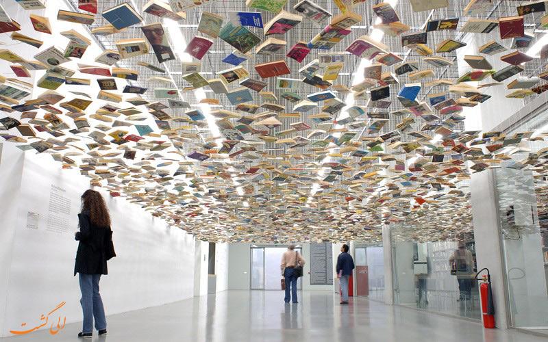 کتابخانه موزه