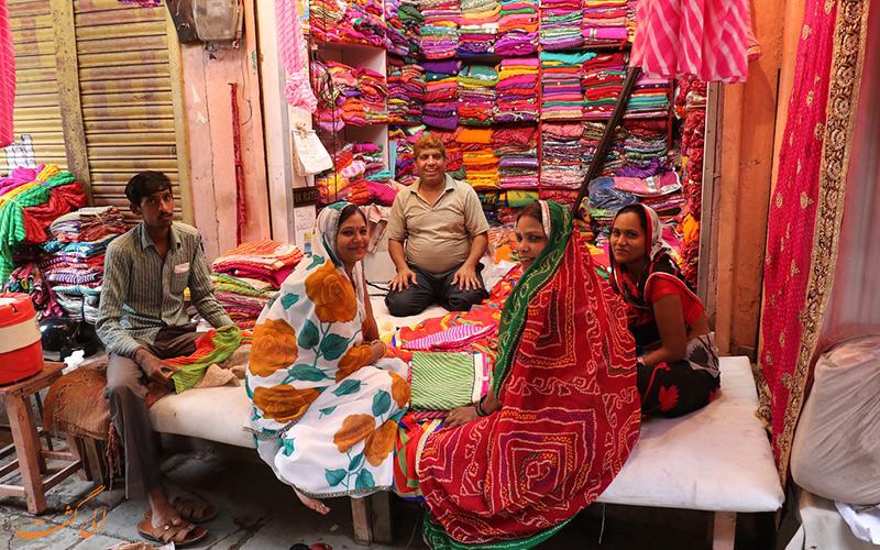 بازار محلی جیپور