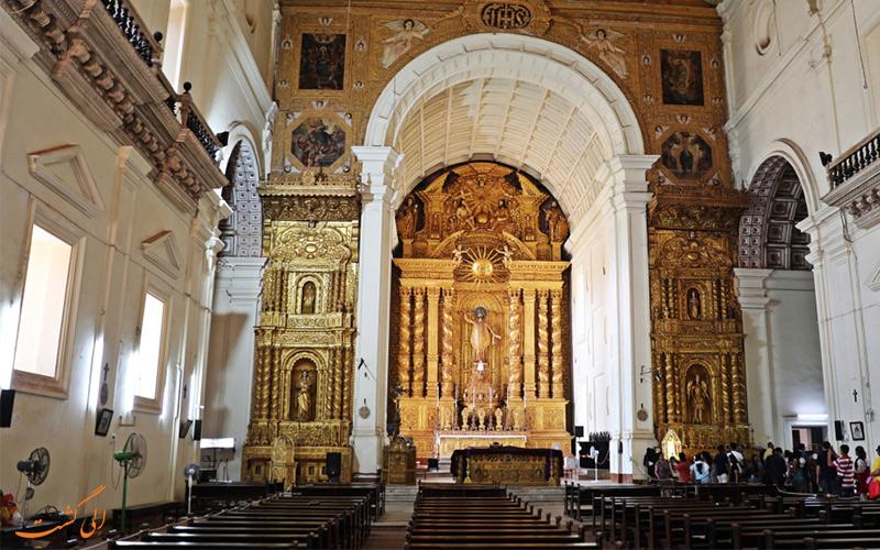 نمایی از داخل کلیسا