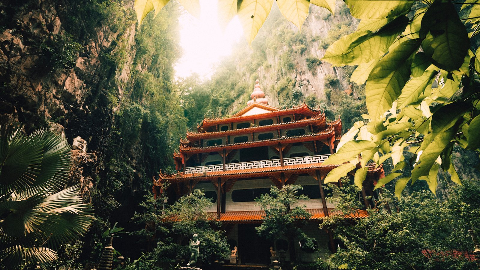 روستای کهن در مالزی