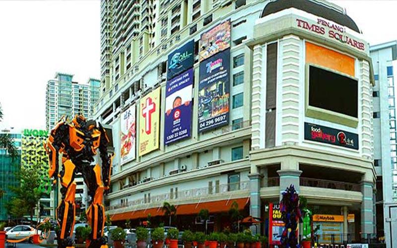 مرکز خرید تایمز اسکوئر در پنانگ