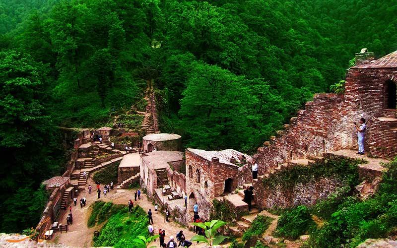 تصویری از قلعه رودخان