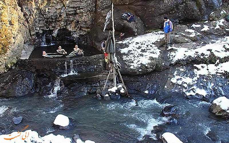 چشمه آب گرم علی داشی از جاهای دیدنی گیلان