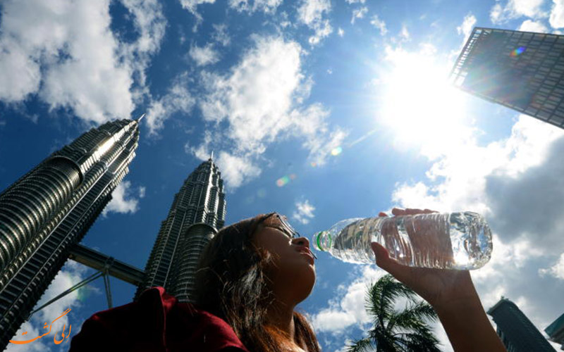 تابستان شرجی کوالالامپور