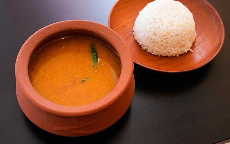 سورک که با برنج سرو شده است
